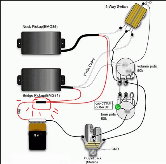 Emg 81 85 Set Wiring - Diagram Design Sources device-keman -  device-keman.paoloemartina.itpaoloemartina.it